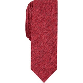 Penguin By Munsingwear Mens Neck Tie Skinny Professional - Red - O/S