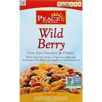 Peace Cereals - Wild Berry Crisp Low Fat Cereal ( 6 - 10 OZ)