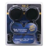 Power Acoustik NB-2 200-Watt 3-Way Tweeters