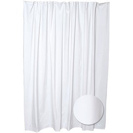 Zenith White Peva Shower Liner