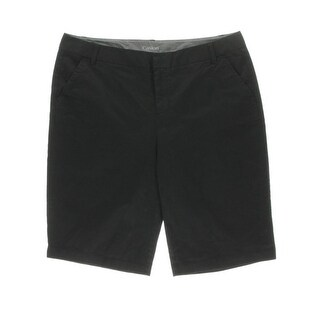 Caslon Womens Twill Casual Khaki, Chino Shorts - 14