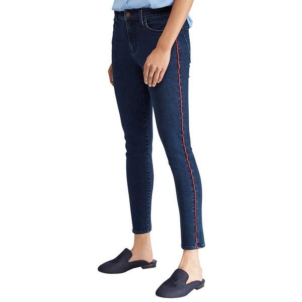 1dc1567d12 Shop Lauren Ralph Lauren Womens Premier Skinny Crop Jeans Size 10 ...