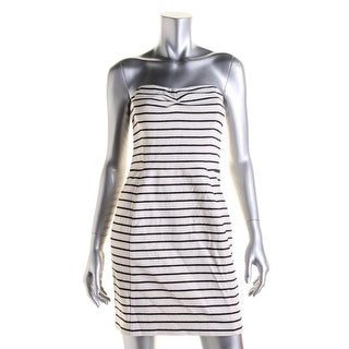 Rachel Rachel Roy Womens Casual Dress Strapless Striped