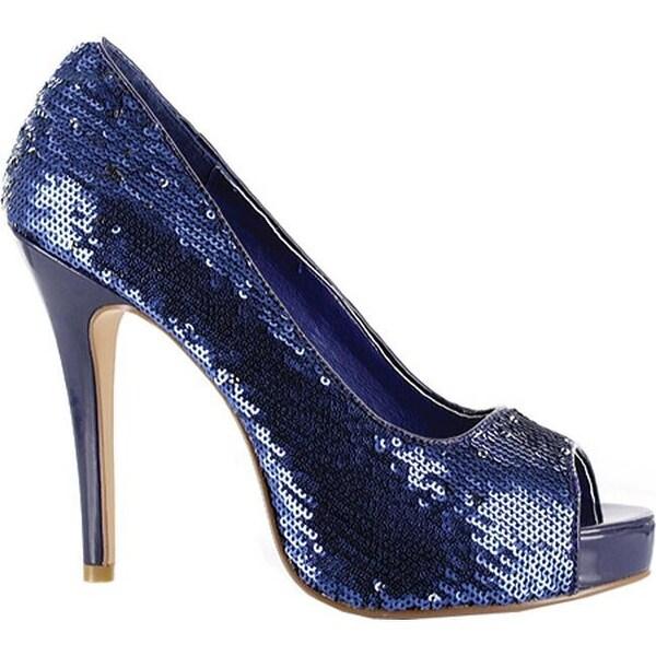 Shop Ellie Women's - Flamingo-415 Blue Sequins - - Women's 22972862 e8460b