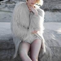 Fashion Womens Winter Warm Long Coat Jacket Faux Fur Parka Outwear Cardigan