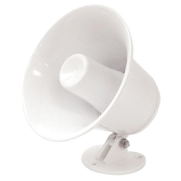"Speco SPC-5P 5"" Weatherproof PA Speaker w/Plastic Base - 8 ohm"