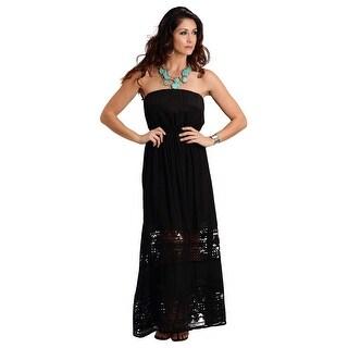 Stetson Western Dress Womens Strapless Black