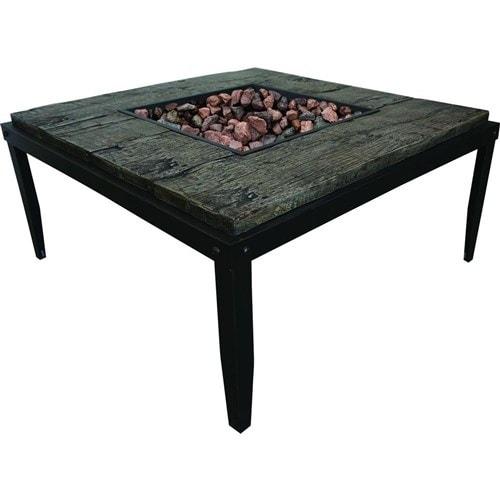 Shop Bond Tiburon Fire Pit Table Fire Pit Table Free Shipping