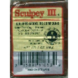 Chocolate - Sculpey Iii Polymer Clay 2Oz