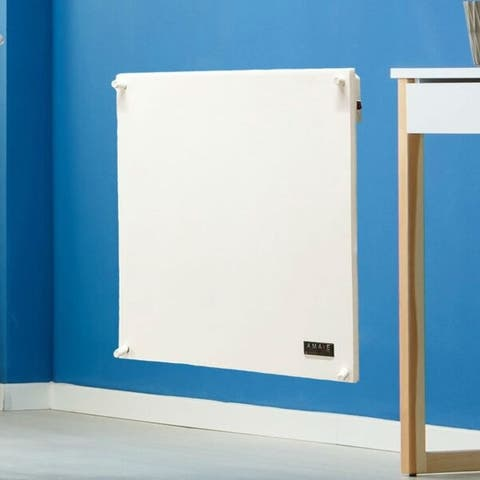 400-Watt Energy Efficient Electric Wall Mounted Space Heater - 23.5'' H x 23.3'' W x 1.50'' D