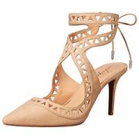 Daya by Zendaya Womens Sutter Pointed Toe Ankle Strap Classic Pumps