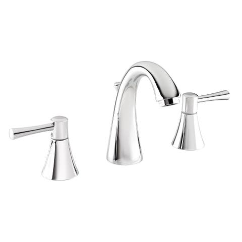 Belanger NEO79CCP Two Handle Widespread Bathroom Faucet, Polished Chrome