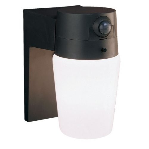 Heath Zenith HZ-5610 1 Light 110 Degree Motion Activated Outdoor Wall Sconce