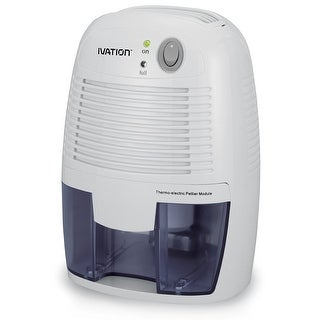 Ivation IVAGDM20 DehumMini Powerful Small-Size Thermo-Electric Dehumidifier for Smaller Room