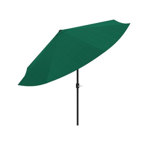 10ft Patio Umbrella with Auto Tilt by Pure Garden, Base Not Included
