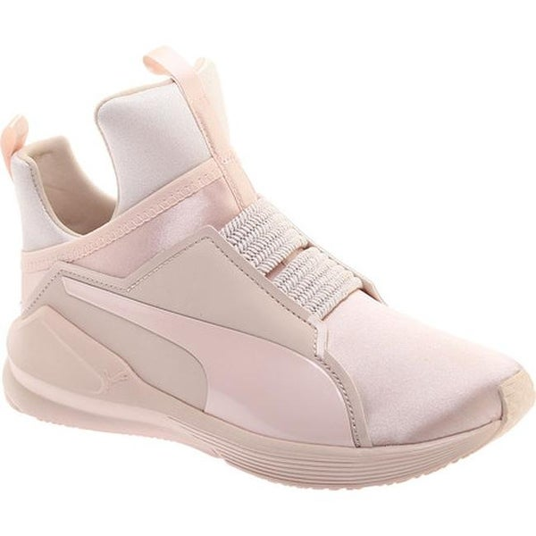 Shop PUMA Women s Fierce Satin EP Trainer Pearl - Free Shipping ... ab7000bc6
