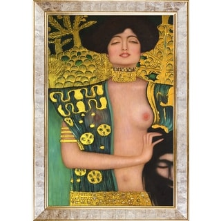 Gustav Klimt 'Judith Klimt I' (Luxury Line) Hand Painted Oil Reproduction