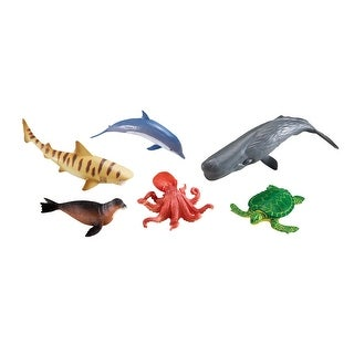Learning Resources Jumbo Ocean Animals, Set of 6