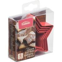 Metal Cookie Cutter Set 5/Pkg-Stars