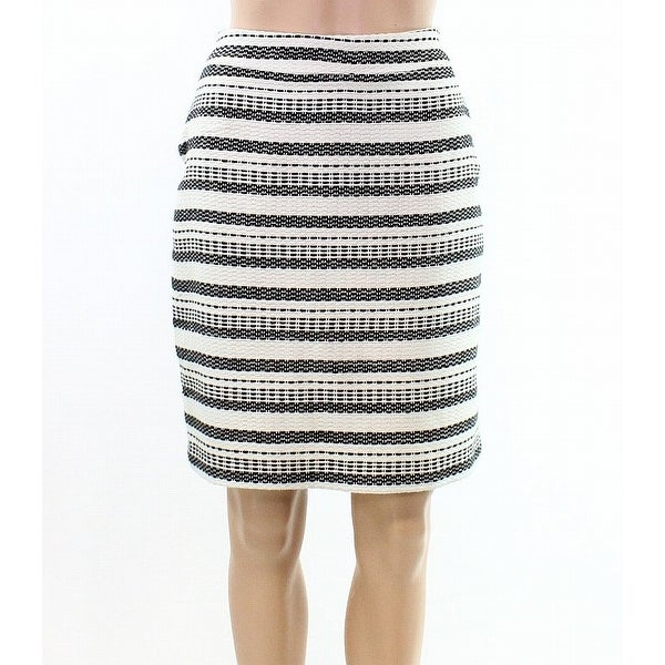 8a6cf2d620 Shop Halogen White Ivory Womens Size 12P Petite Straight Pencil Skirt -  Free Shipping On Orders Over $45 - Overstock - 22123823
