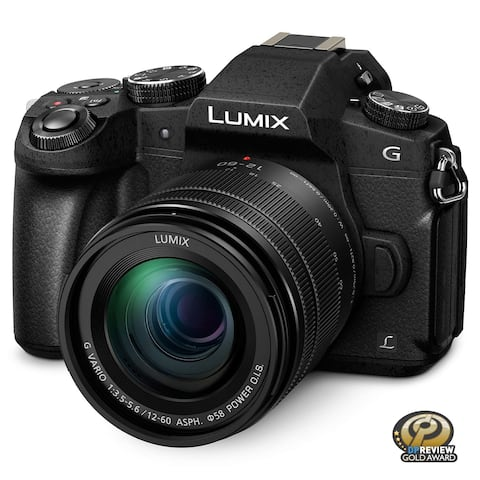 PANASONIC LUMIX G85 4K Digital Camera, 12-60mm Power O.I.S. Lens, 16 Megapixel Mirrorless Camera (Black)