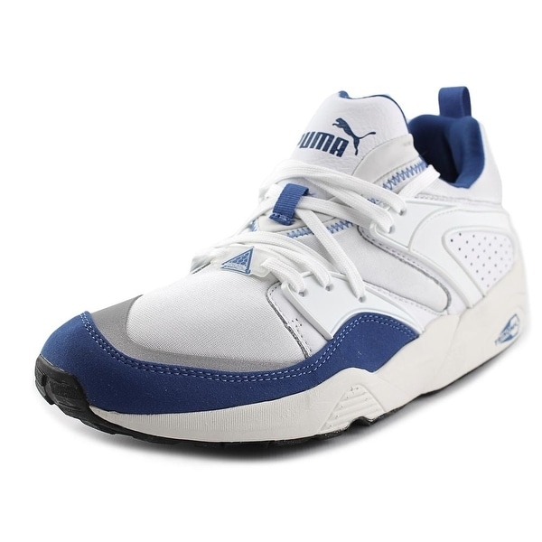 Puma Blaze Of Glory Primary Men  Round Toe Synthetic White Sneakers