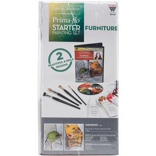 Donna Dewberry Starter Paint Set-Furniture In Prima Flow
