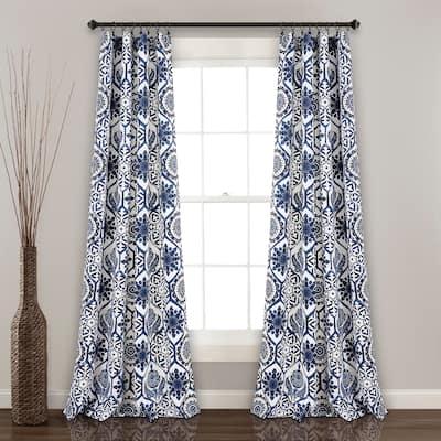 Lush Decor Marvel Room Darkening Window Curtain Panel Pair