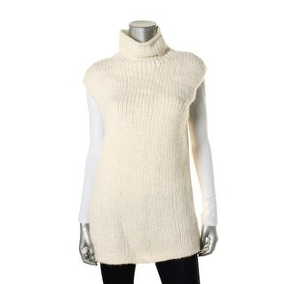 Theory Womens Vandrona Woven Open Stitch Pullover Sweater