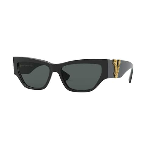Versase VE4383 GB1/87 56 Black Woman Cat Eye Sunglasses