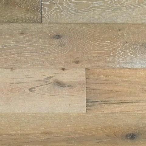 "Miseno MFLR-MISSION Mission - 7-1/2"" Engineered Hardwood Flooring - Handscraped White Oak Wood - Sold by Carton (36 SF/Carton)"