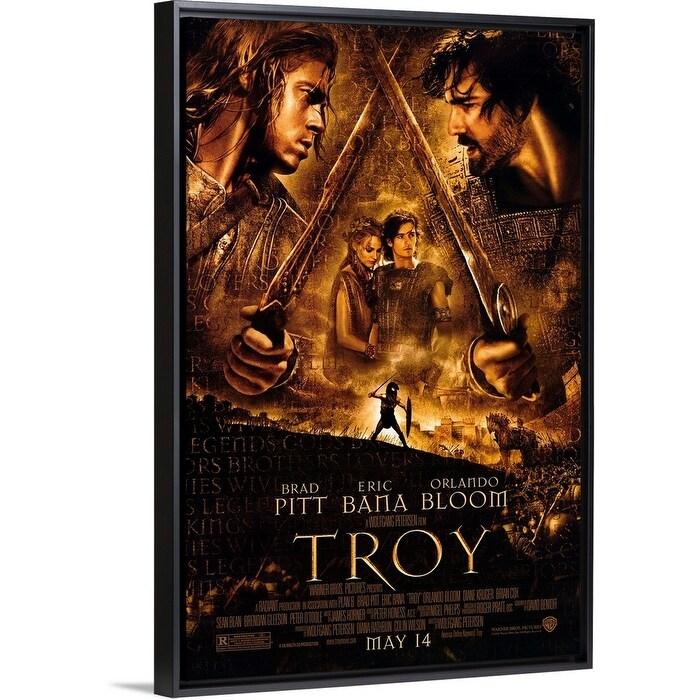 Shop Black Friday Deals On Troy 2004 Black Float Frame Canvas Art Overstock 26973875