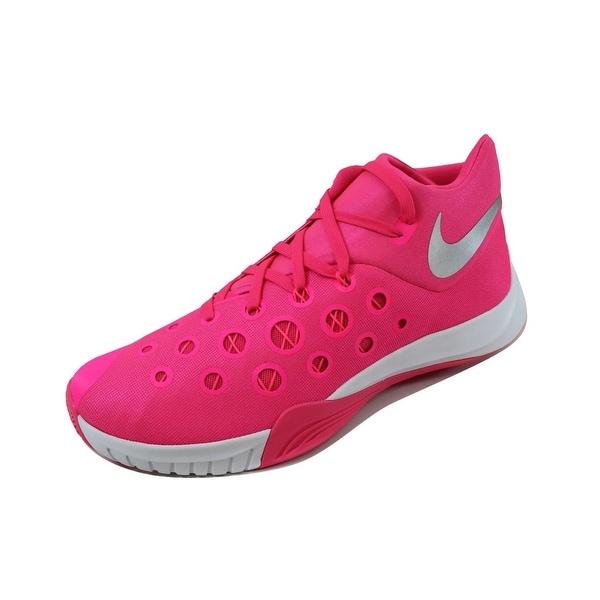 Nike Men's Zoom Hyperquickness 2015 TB Black/White-Varsity Red-Varsity Royal 812976-604 Size 14.5