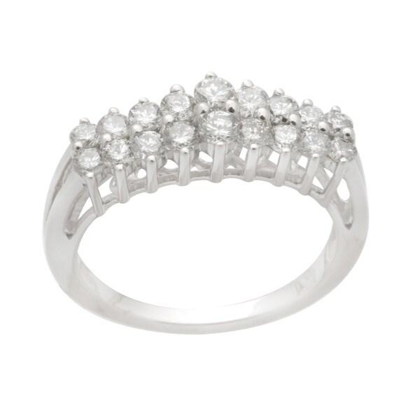 Brand New 0.99 Carat Round Brilliant Cut Real Natural Diamond Designer Ring