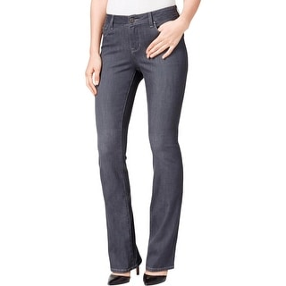 Lee Platinum Label Womens Bootcut Jeans Stretch Contoured Waistband