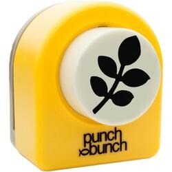 """Ash Leaf - Punch Bunch Large Punch Approx. 1.25"""""""