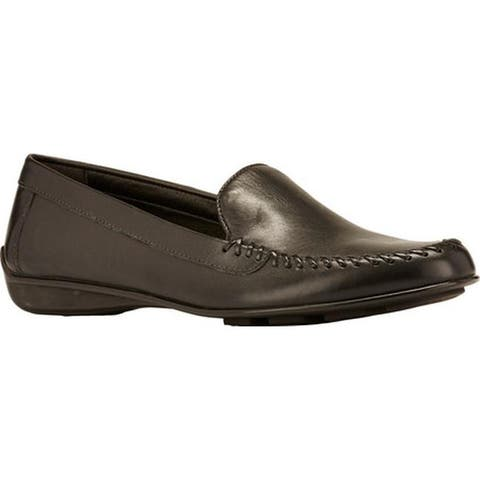 Walking Cradles Women's Mercer Loafer Black Leather