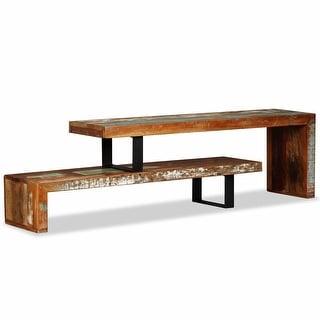 vidaXL TV Stand Solid Reclaimed Wood