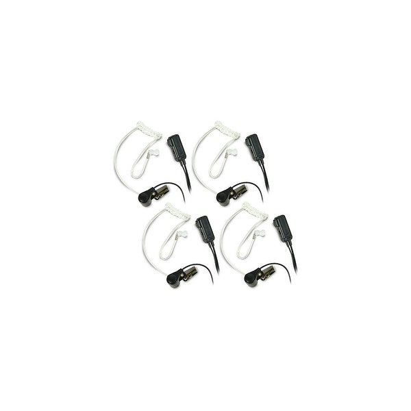 Midland AVP-H3 Two Transparent Behind-the-Ear Microphone- 4 Pack