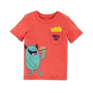 Carter's Little Boys' Monster Slub Jersey Tee