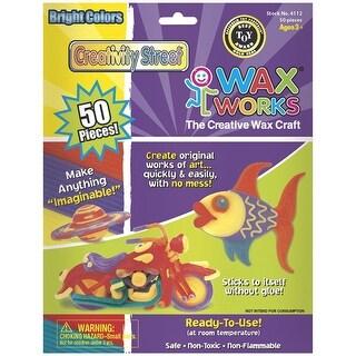 Creativity Street - Wax Works Craft Wax - Bright Hues - 50/Pkg.