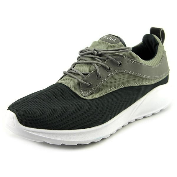 Globe Roam Lyte Men Round Toe Canvas Gray Sneakers