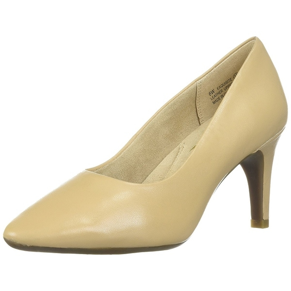 Aerosoles Womens Exquisite Leather Pointed Toe Classic Pumps