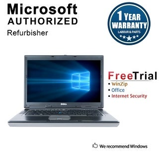 "Refurbished Dell Latitude D830 15.4"" Laptop Intel Core 2 Duo 2G 2G DDR2 80G DVD Win 7 Home Premium 64 1 Year Warranty - Silver"