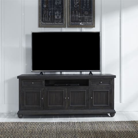 Harvest Home Chalkboard 66-inch 2-drawer TV Console