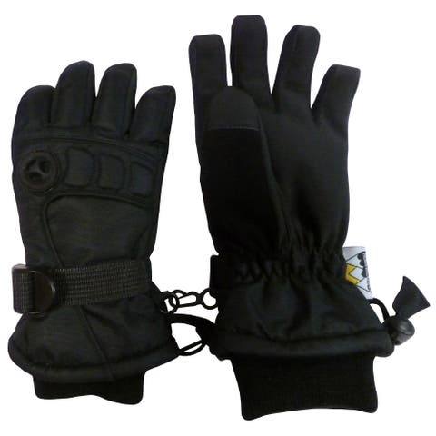 NICE CAPS Men's Extreme Cold Weather Premier Colorblock Ski Glove with Air Hole