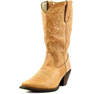 Durango RD3478 Women  Square Toe Leather Tan Western Boot