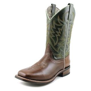 Laredo Harper Women Square Toe Leather Green Western Boot