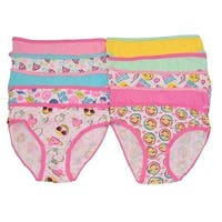 Sweet n Sassy Girls Pink Happy Face Emoticon 10 Pc Underwear Set