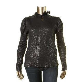 Vivienne Westwood Womens Sequined Collar Pullover Top - XL